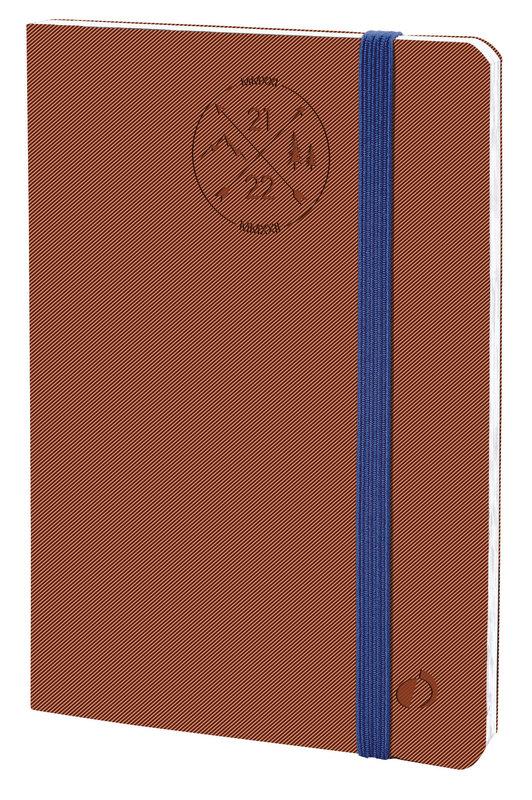 QUO VADIS Agenda Scolaire semainier Affaires SD ML Everest 10x15cm brique elast