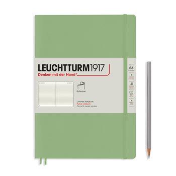 LEUCHTTURM Sauge. Couverture souple. Composition (B5). 123 p.. ligné