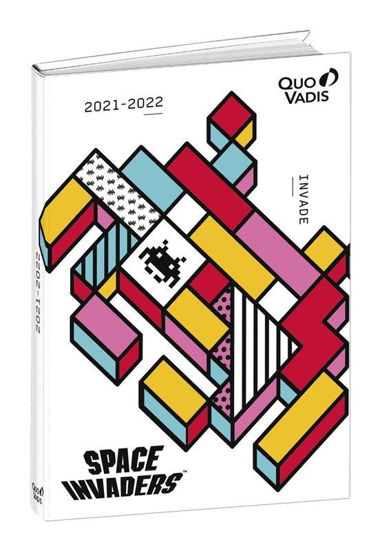 QUO VADIS Agenda scolaire 1 jour par page Eurotextagenda Space 12x17cm modèles aléatoires