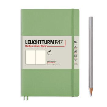 LEUCHTTURM Sauge, Couverture souple, Paperback (B6+), 123 p., blanc