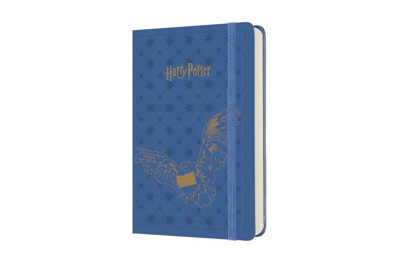 MOLESKINE Agenda Civil 12 Mois Journalier Format de Poche HARRY POTTER Couverture Rigide - Bleu