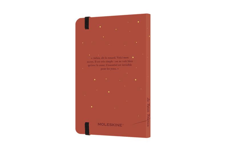 MOLESKINE Agenda Civil 12 Mois Semainier Horizontal + Notes Format de Poche PETIT PRINCE Couverture Rigide - Renard