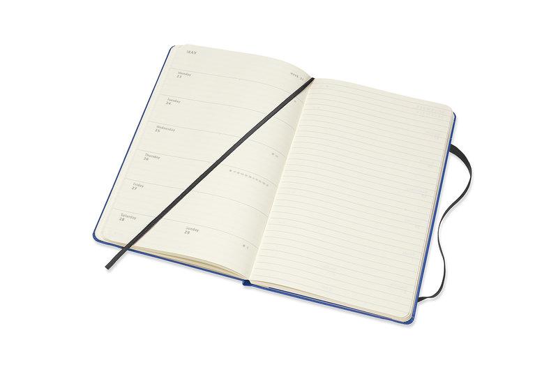 MOLESKINE Agenda Civil 12 Mois Semainier Horizontal + Notes Grand Format PETIT PRINCE Couverture Rigide - Paysage