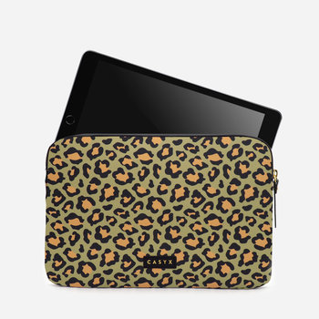 CASYX Housse pour tablette Olive Leopard
