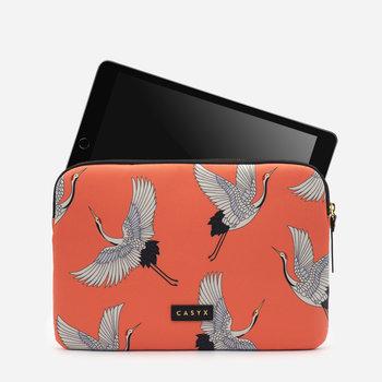 CASYX Housse pour tablette Coral Cranes