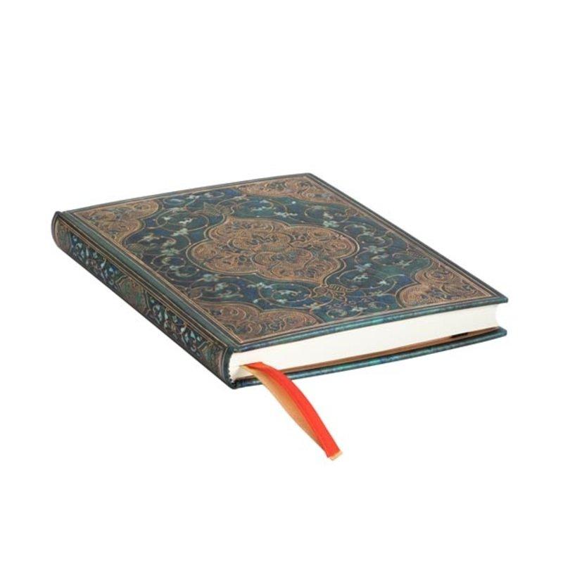 PAPERBLANKS Agenda scolaire semainier rep Chroniques Turquoises 13x18cm