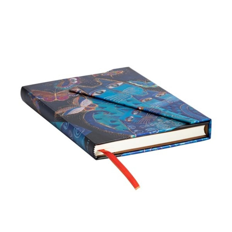 PAPERBLANKS Agenda scolaire semainier rep Félins Fantastiques 13x18cm