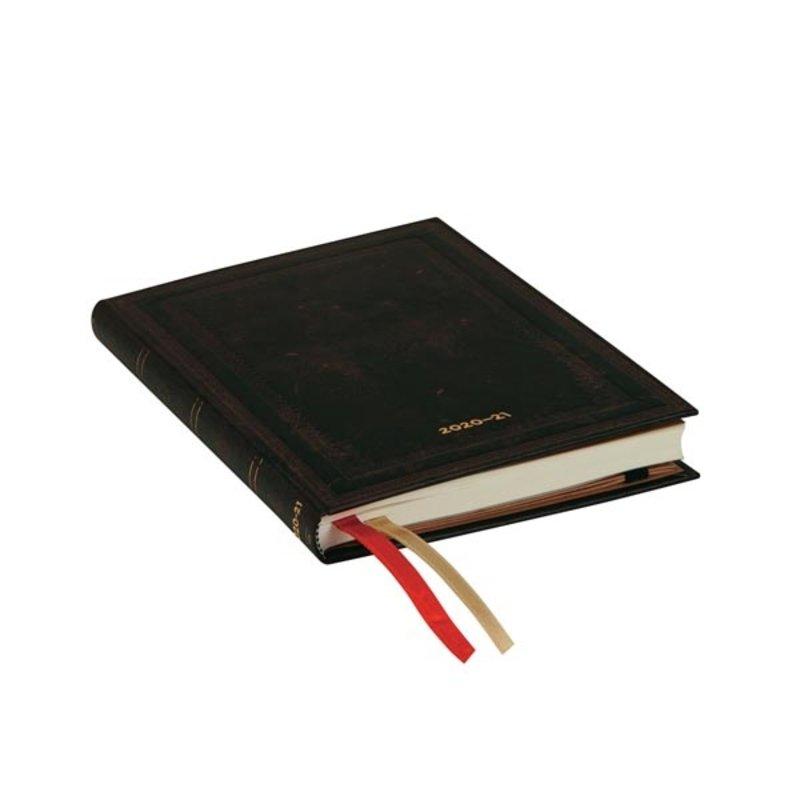 PAPERBLANKS Agenda scolaire semainier rep Noir Marocain Uni 13x18cm