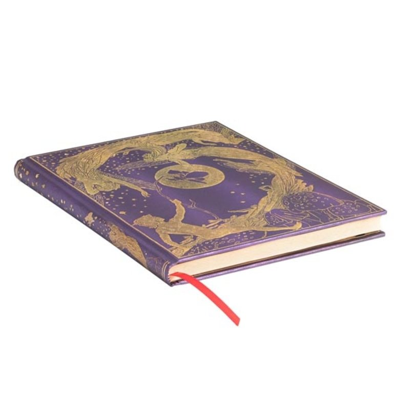 PAPERBLANKS Agenda scolaire semainier rep  Lang's Fairy Books Fée Violette 13x18cm
