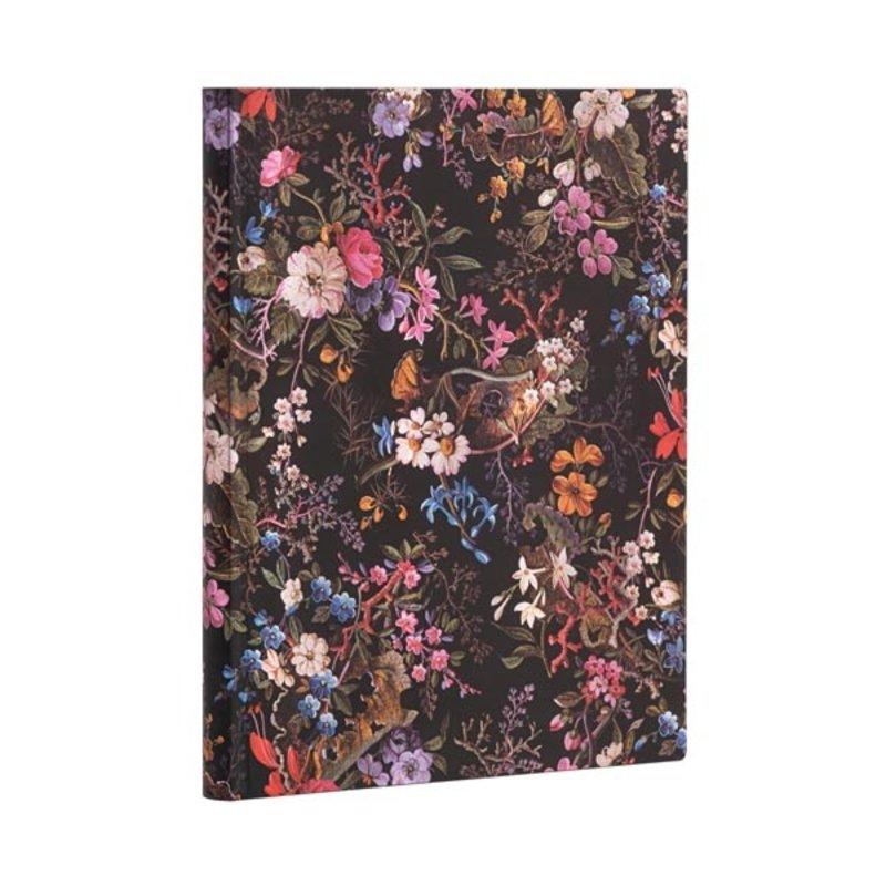PAPERBLANKS Agenda pour enseignants flexis semainier (18M) William Kilburn Floralia 18x23cm