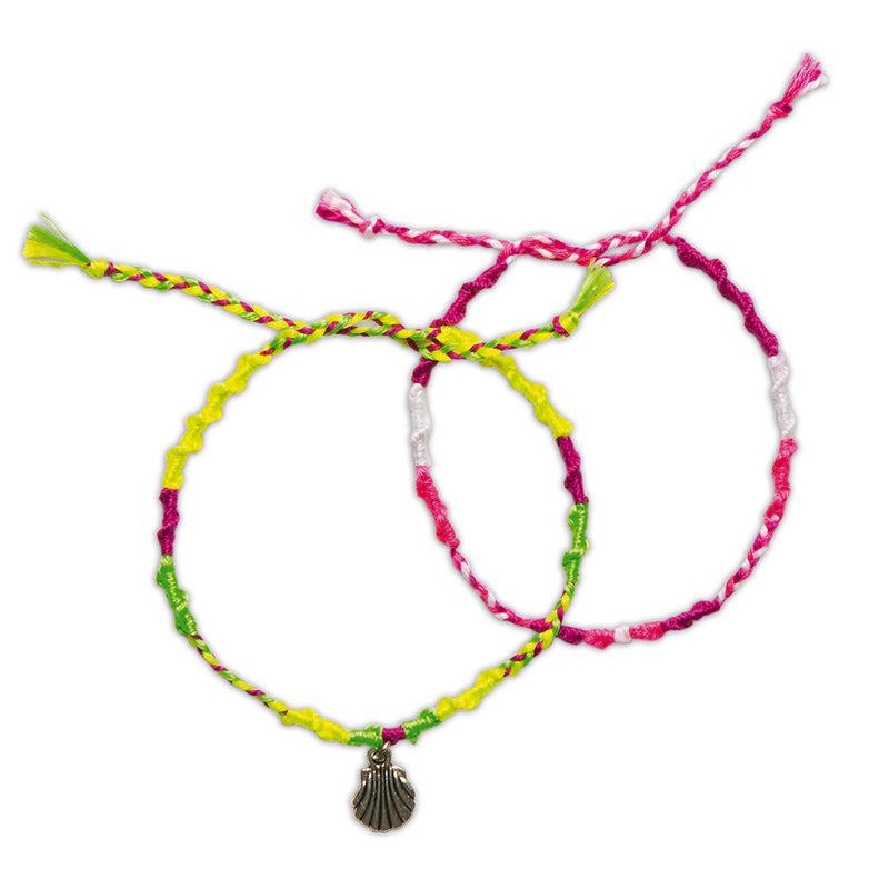 JANOD 7 Bracelets Bresiliens Fluo A Creer