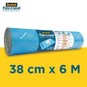 SCOTCH Rouleau d'expédition Scotch™ Flex & Seal FS-1520-6-EU 38 cm x 6 m (15 po x 20 pi)