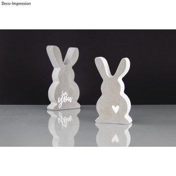 RAYHER Moule: Famille de lapins, 8x14,5x3cm/6,5x11,7x3cm