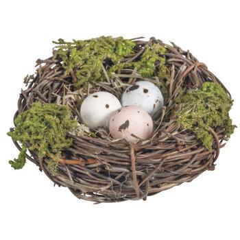 RAYHER Nid d'oiseau décoratif, 7cm ø, 2,5cm, 1pce.