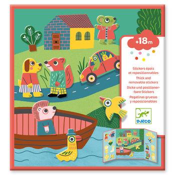 DJECO Stickers pour les petits  Les animaux