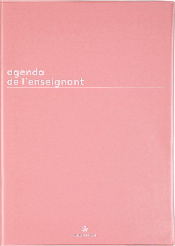 OBERTHUR Agenda scolaire de l'enseignant Boréal 21,5x30cm couleurs aléatoires
