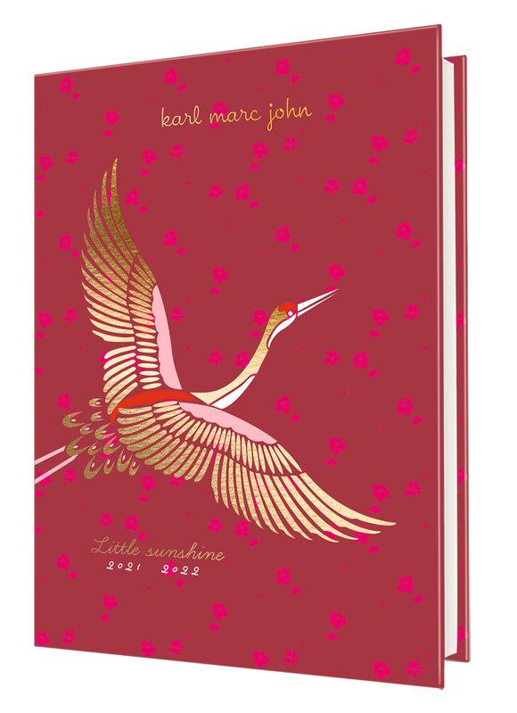 OBERTHUR Agenda scolaire 1 jour par page Karl Marc Jacob 12,5x17,5cm modèles aléatoires