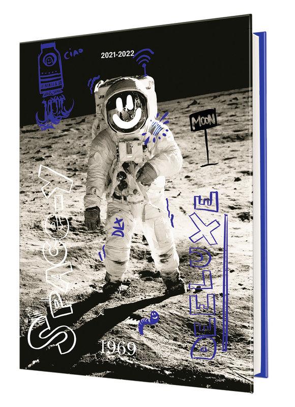 OBERTHUR Agenda scolaire 1 jour par page Deeluxe Space 12,5x17,5cm