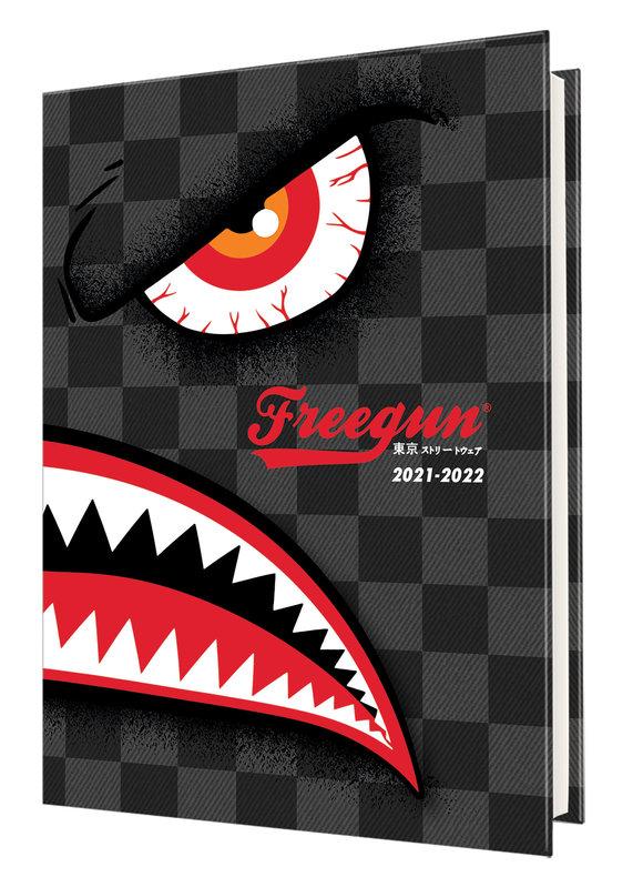 OBERTHUR Agenda scolaire 1 jour par page Freegun 12,5x17,5cm Monster