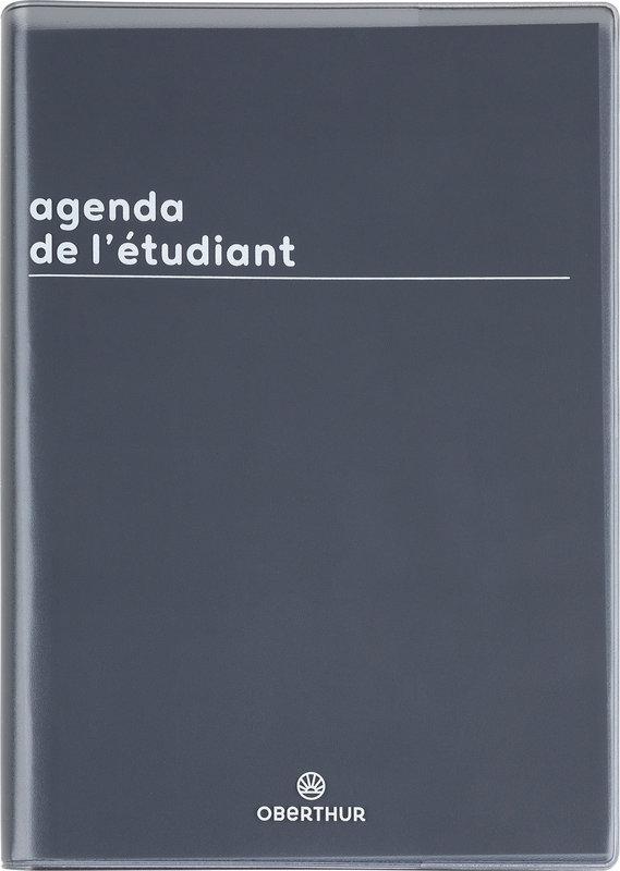 OBERTHUR Agenda scolaire 1 jour par page de l'Etudiant Boréal 12,5x17,5cm couleurs aléatoires