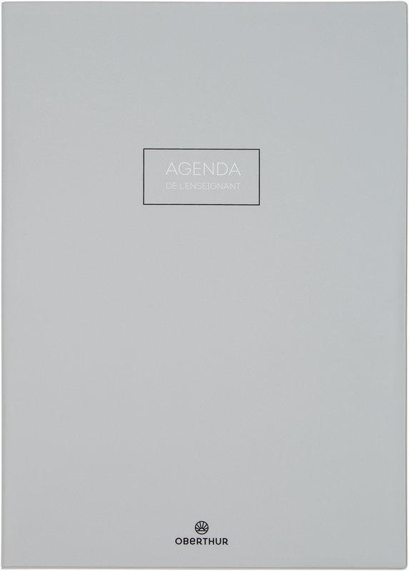 OBERTHUR Agenda scolaire de l'Enseignant Cirrus 21,5x30cm couleurs aléatoires