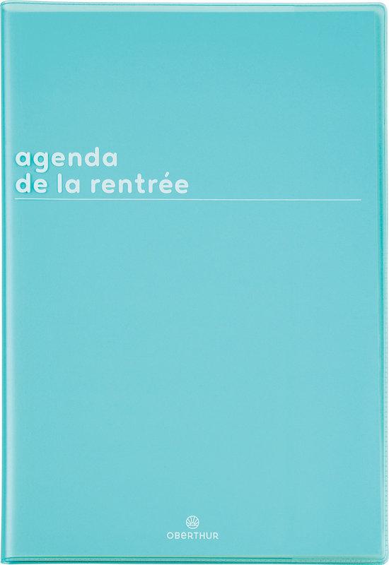 OBERTHUR Agenda scolaire semainier de la Rentrée Boréal 16x24cm couleurs aléatoires
