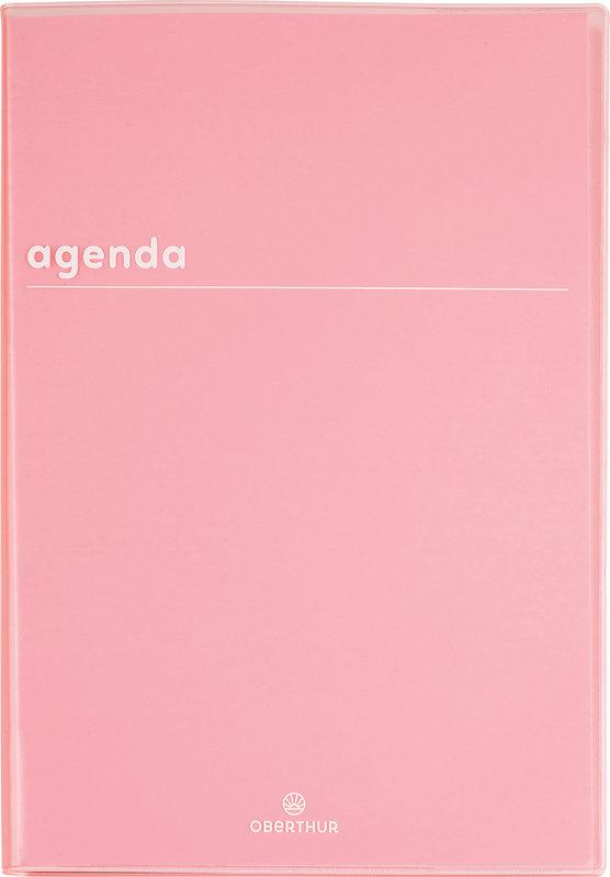 OBERTHUR Agenda scolaire 1 jour par page Boréal 15x21cm couleurs aléatoires