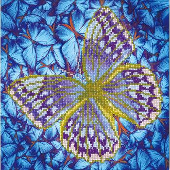 DIAMOND DOTZ Diamond Dotz Flutter by Silver (Papillon Argent)
