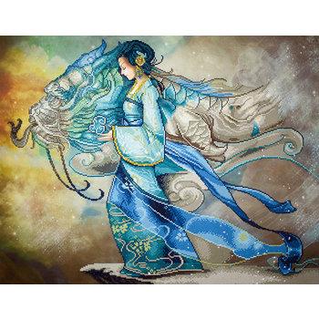 DIAMOND DOTZ Diamond Dotz Dragon Princess (Princesse Dragon)