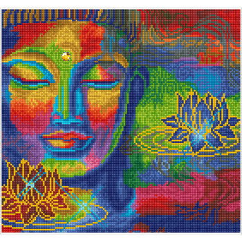 DIAMOND DOTZ Diamond Dotz Peace&Tranquility (Bouddha)