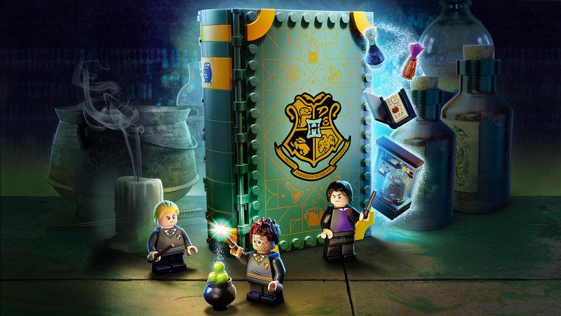 LEGO 76383 Poudlard : le cours de potions