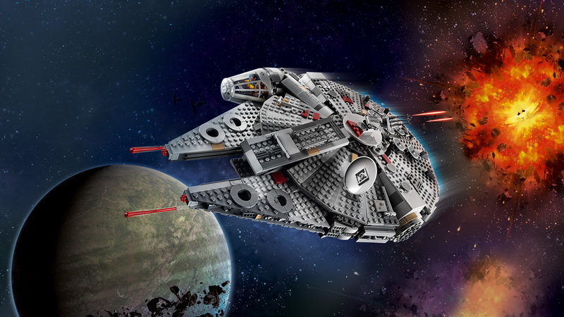 LEGO 75257 Faucon Millenium™