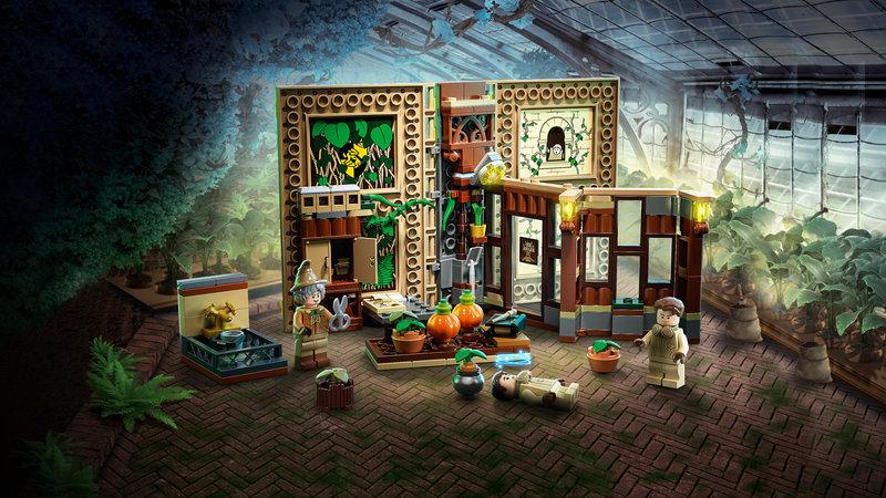 LEGO 76384 Poudlard : le cours de botanique