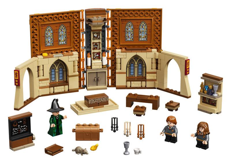 LEGO 76382 Poudlard : le cours de métamorphose
