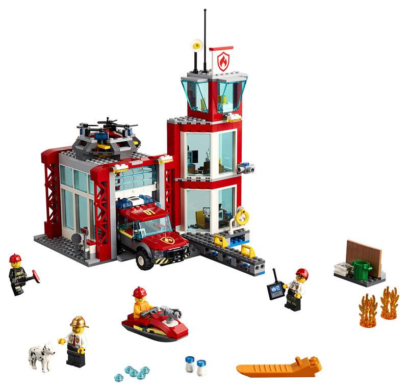 LEGO 60215 La caserne de pompiers