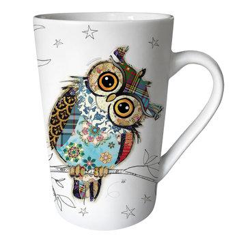 KIUB Mug XL conique 435ml Kook Chouette
