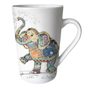 KIUB Mug XL conique 435ml Kook Éléphant