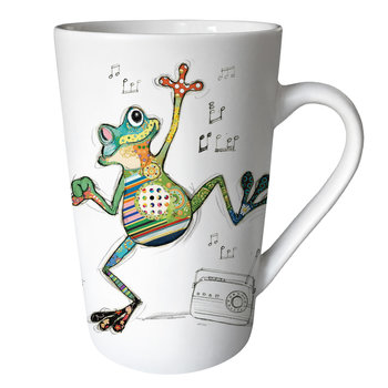 KIUB Mug XL conique 435ml Kook Grenouille