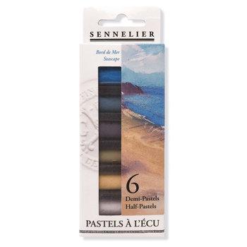 SENNELIER Etui 6 1/2 pastels Ecu Bord de Mer