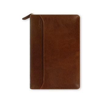 FILOFAX Organiseur Lockwood Personal Zip 20,1x13,5cm Cognac