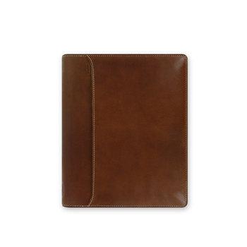 FILOFAX Organiseur Lockwood A5 Zip 25x20,4cm Cognac