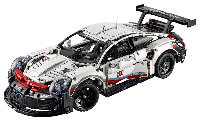 LEGO 42096 Porsche 911 RSR V29