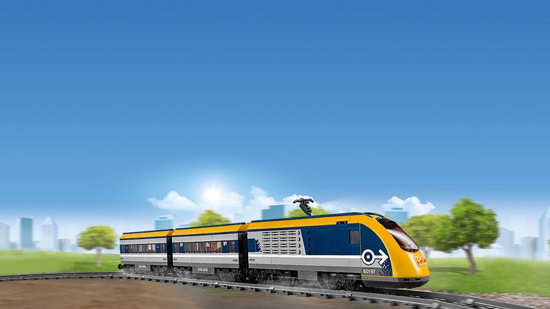 LEGO 60197 Le train de passagers télécommandé