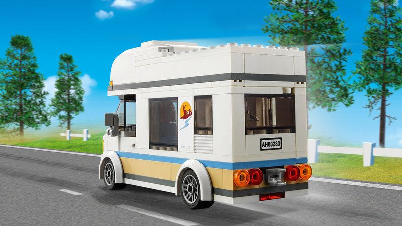 LEGO 60283 Le camping-car de vacances