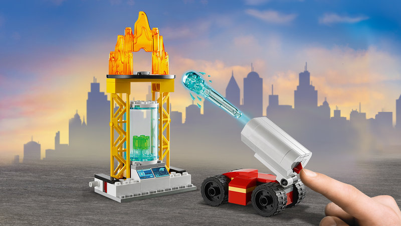 LEGO 60282 L'unité de commandement des pompiers