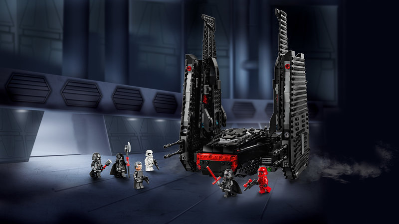 LEGO 75256 La navette de Kylo Ren