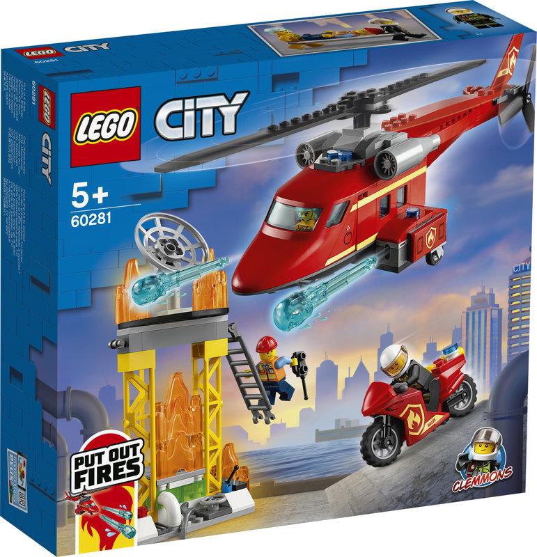 LEGO 60281 L'hélicoptère de secours des pompiers