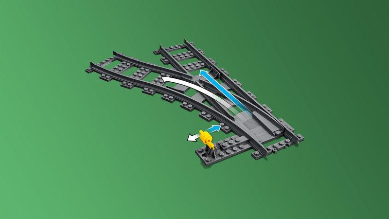 LEGO 60238 Les aiguillages