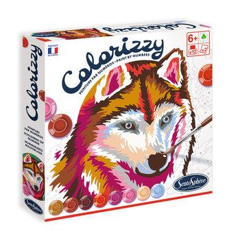 SENTOSPHERE Colorizzy Animaux de la Forêt peinture par numéro
