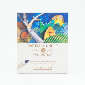 SENNELIER Boîte carton Pastel Huile Paysage 24 Pastels